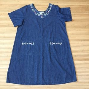 Vintage The Paragon denim dress